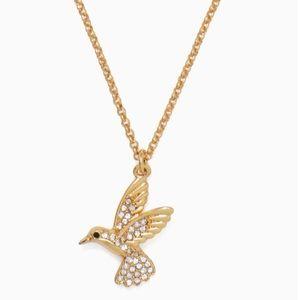 NWT! Kate Spade Hummingbird Necklace